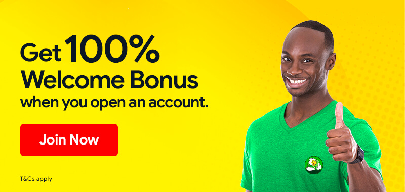 U100% Welcome Bonus